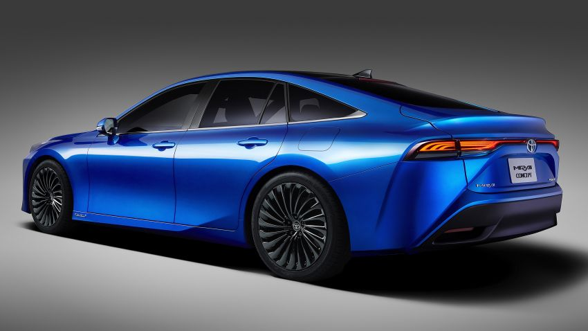 Toyota Mirai Concept – second-gen hydrogen vehicle to become RWD luxury sedan with 30% greater range Image #1029061