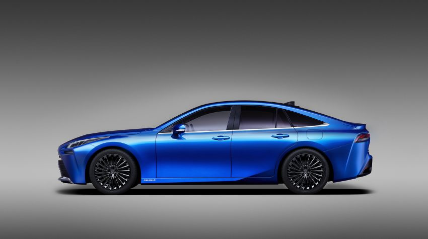 Toyota Mirai Concept – second-gen hydrogen vehicle to become RWD luxury sedan with 30% greater range Image #1029062