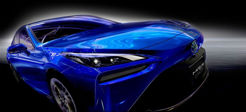Toyota Mirai Concept – second-gen hydrogen vehicle to become RWD luxury sedan with 30% greater range Image #1029063