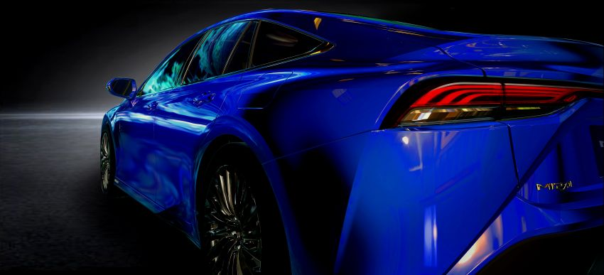 Toyota Mirai Concept – second-gen hydrogen vehicle to become RWD luxury sedan with 30% greater range Image #1029064