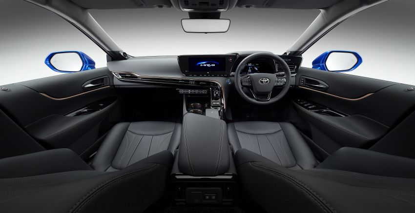 Toyota Mirai Concept – second-gen hydrogen vehicle to become RWD luxury sedan with 30% greater range Image #1029065