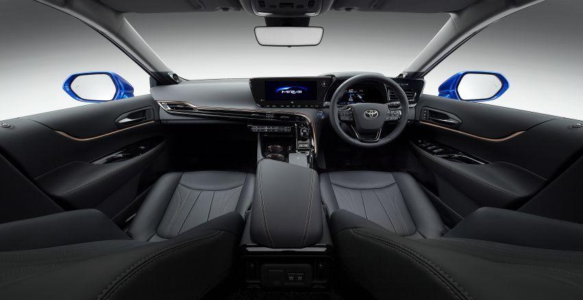 Toyota Mirai Concept – generasi kedua model janaan hidrogen, RWD mewah, jarak perjalanan naik 30% Image #1029206