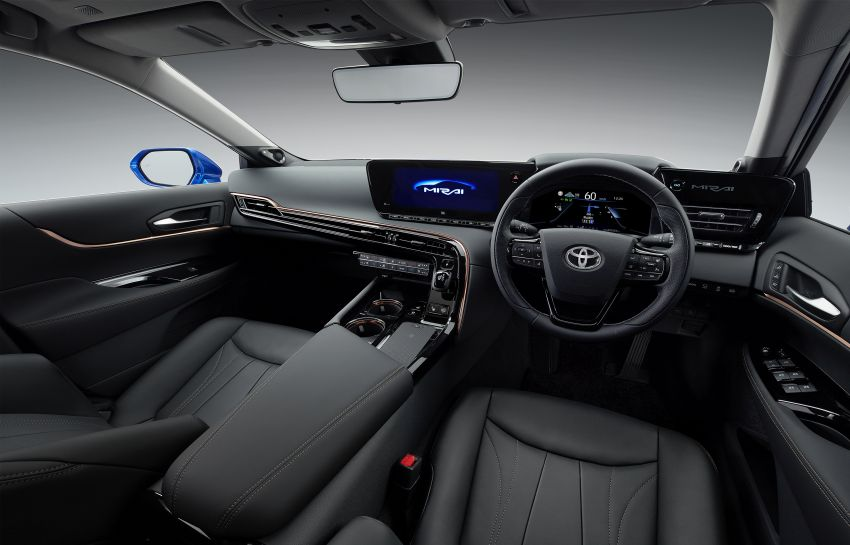 Toyota Mirai Concept – second-gen hydrogen vehicle to become RWD luxury sedan with 30% greater range Image #1029066
