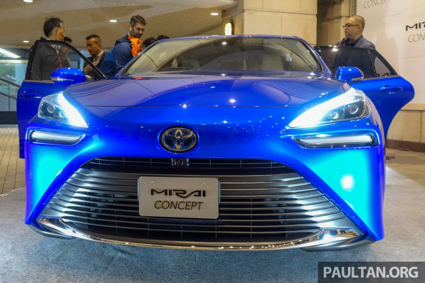 Tokyo 2019: Toyota Mirai generasi kedua dipertonton Image #1033553