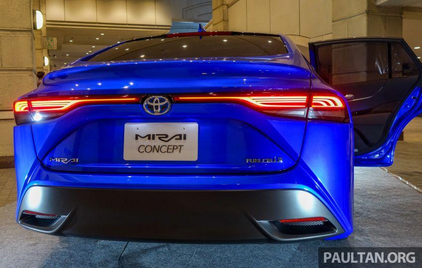 Tokyo 2019: Toyota Mirai generasi kedua dipertonton Image #1033556
