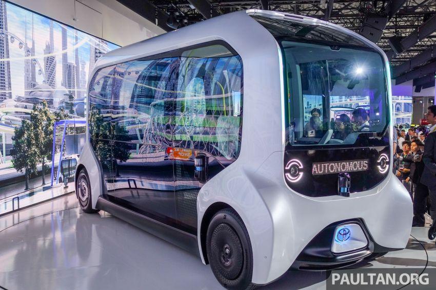Tokyo 2019: Toyota pamer visi EV masa hadapan – e-Palette, Sora, FSR bakal diguna ketika Olimpik 2020 Image #1037121