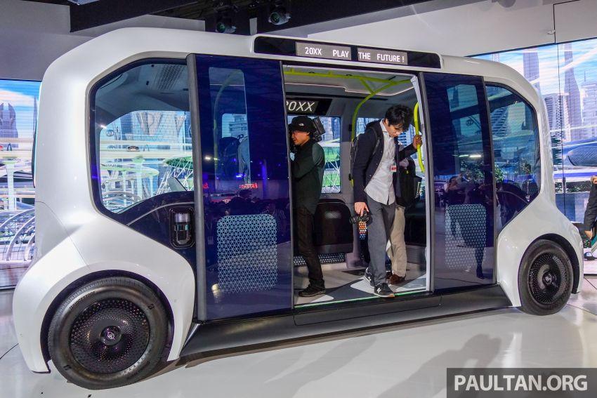 Tokyo 2019: Toyota pamer visi EV masa hadapan – e-Palette, Sora, FSR bakal diguna ketika Olimpik 2020 Image #1037122