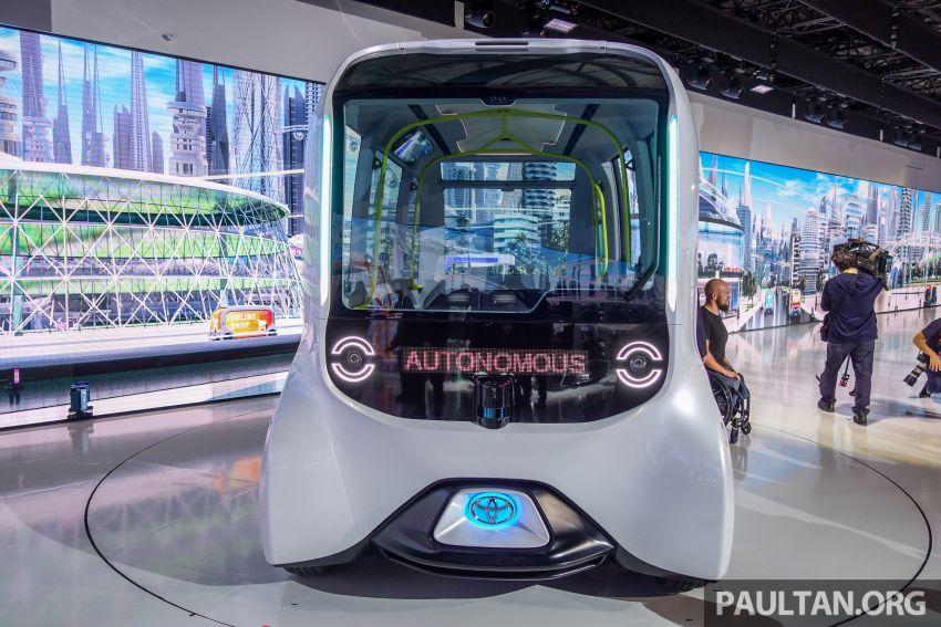 Tokyo 2019: Toyota pamer visi EV masa hadapan – e-Palette, Sora, FSR bakal diguna ketika Olimpik 2020 Image #1037124