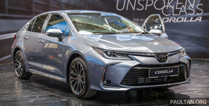 Toyota Corolla 2019 dilancar untuk pasaran Malaysia – dua varian, enjin 1.8L 139 PS, harga dari RM128,888 Image #1028389