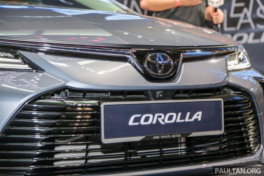 Toyota Corolla 2019 dilancar untuk pasaran Malaysia – dua varian, enjin 1.8L 139 PS, harga dari RM128,888 Image #1028399