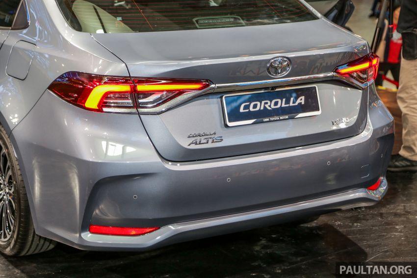 Toyota Corolla 2019 dilancar untuk pasaran Malaysia – dua varian, enjin 1.8L 139 PS, harga dari RM128,888 Image #1028407