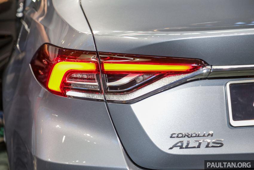 Toyota Corolla 2019 dilancar untuk pasaran Malaysia – dua varian, enjin 1.8L 139 PS, harga dari RM128,888 Image #1028408