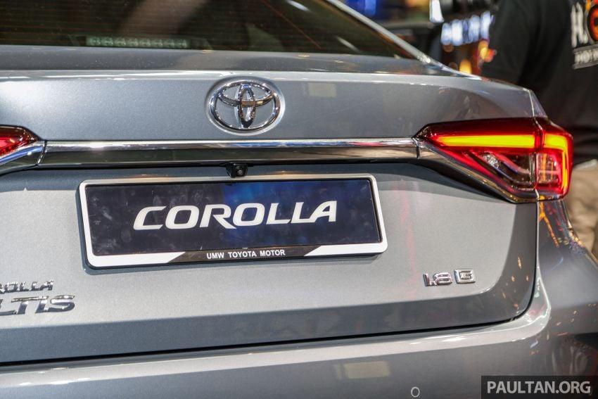 Toyota Corolla 2019 dilancar untuk pasaran Malaysia – dua varian, enjin 1.8L 139 PS, harga dari RM128,888 Image #1028410