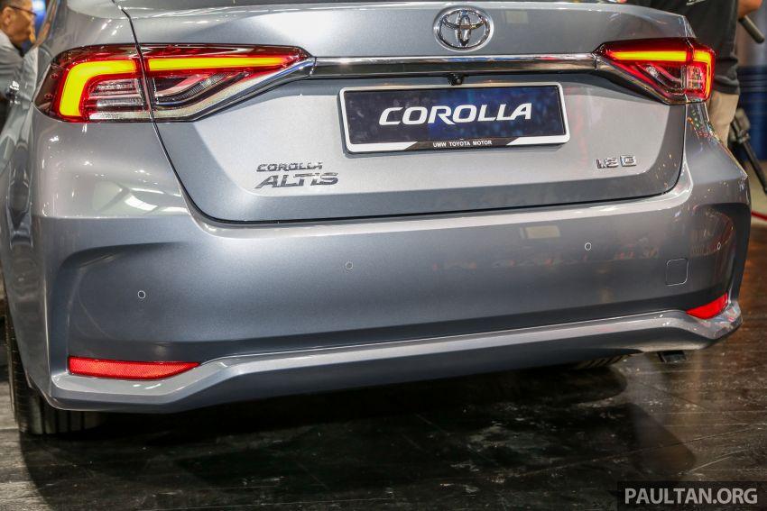 Toyota Corolla 2019 dilancar untuk pasaran Malaysia – dua varian, enjin 1.8L 139 PS, harga dari RM128,888 Image #1028411