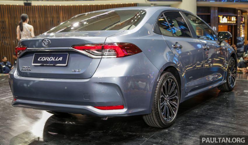 Toyota Corolla 2019 dilancar untuk pasaran Malaysia – dua varian, enjin 1.8L 139 PS, harga dari RM128,888 Image #1028391