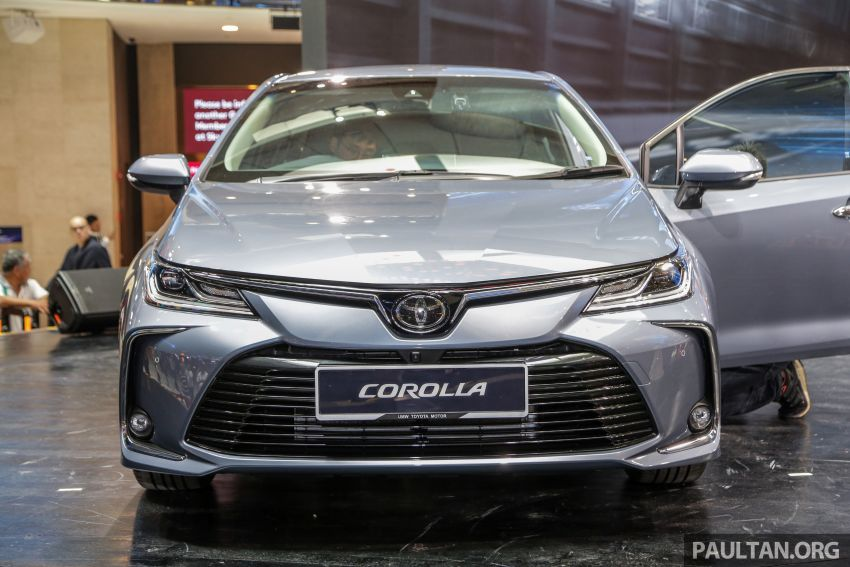 Toyota Corolla 2019 dilancar untuk pasaran Malaysia – dua varian, enjin 1.8L 139 PS, harga dari RM128,888 Image #1028392