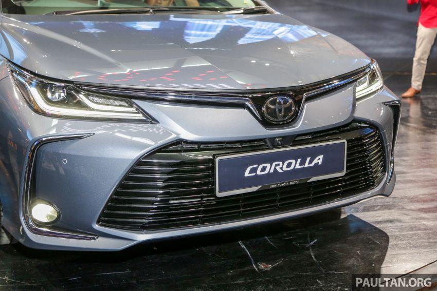 Toyota Corolla 2019 dilancar untuk pasaran Malaysia – dua varian, enjin 1.8L 139 PS, harga dari RM128,888 Image #1028395