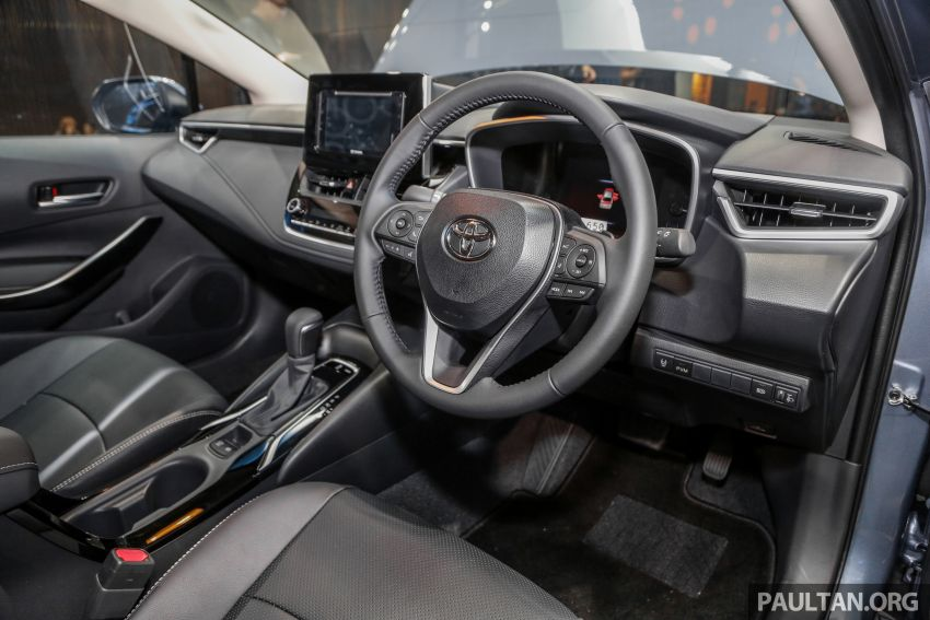 Toyota Corolla 2019 dilancar untuk pasaran Malaysia – dua varian, enjin 1.8L 139 PS, harga dari RM128,888 Image #1028417