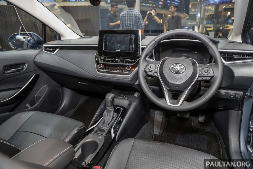 Toyota Corolla 2019 dilancar untuk pasaran Malaysia – dua varian, enjin 1.8L 139 PS, harga dari RM128,888 Image #1028433