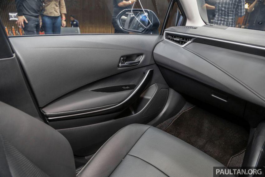 Toyota Corolla 2019 dilancar untuk pasaran Malaysia – dua varian, enjin 1.8L 139 PS, harga dari RM128,888 Image #1028435
