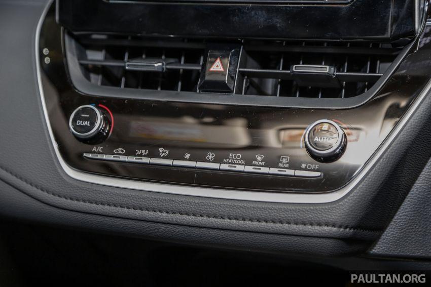 Toyota Corolla 2019 dilancar untuk pasaran Malaysia – dua varian, enjin 1.8L 139 PS, harga dari RM128,888 Image #1028424