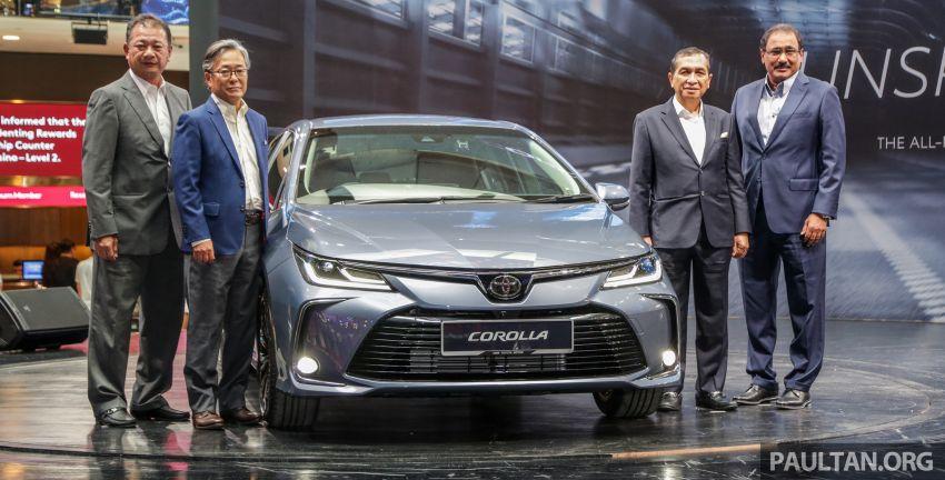 Toyota Corolla 2019 dilancar untuk pasaran Malaysia – dua varian, enjin 1.8L 139 PS, harga dari RM128,888 Image #1027990