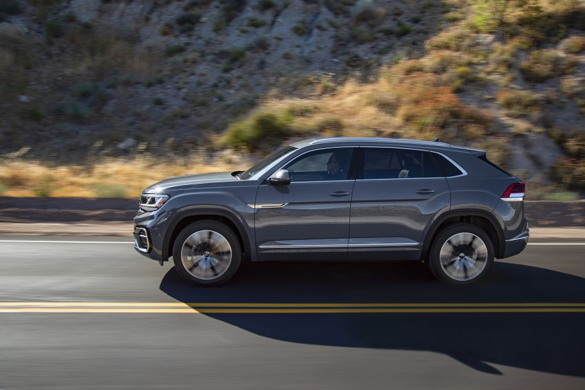 """Volkswagen Atlas Cross Sport – another SUV """"coupé"""" Image #1029890"""
