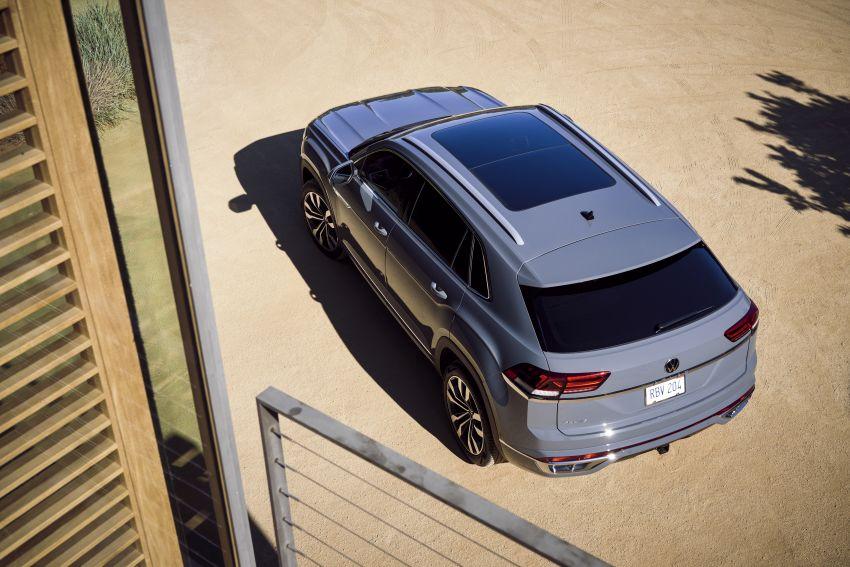 """Volkswagen Atlas Cross Sport – another SUV """"coupé"""" Image #1029906"""