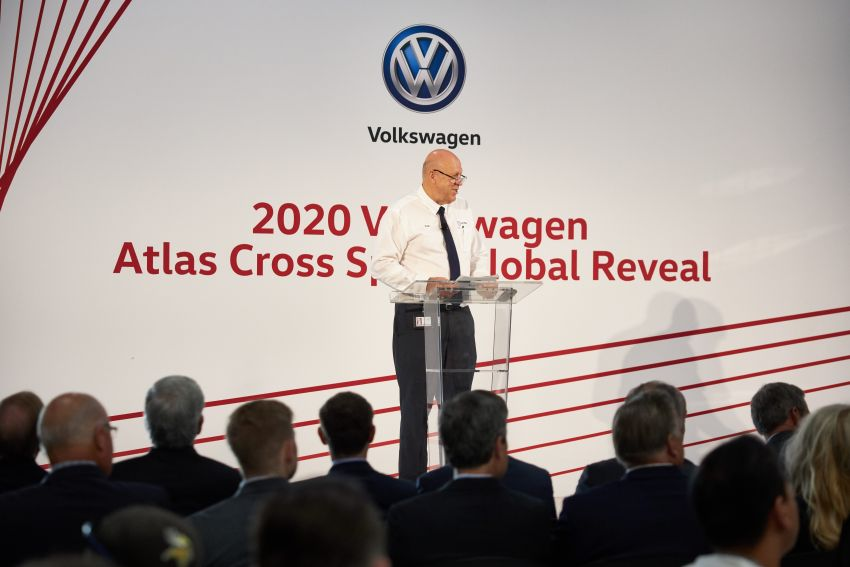 "Volkswagen Atlas Cross Sport – another SUV ""coupé"" Image #1029907"