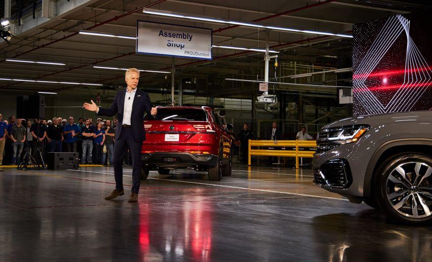"""Volkswagen Atlas Cross Sport – another SUV """"coupé"""" Image #1029911"""