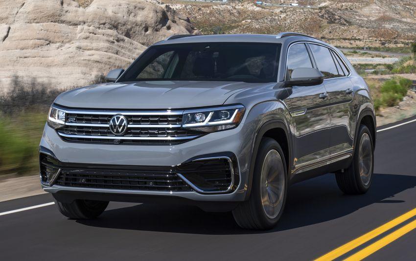 """Volkswagen Atlas Cross Sport – another SUV """"coupé"""" Image #1029877"""