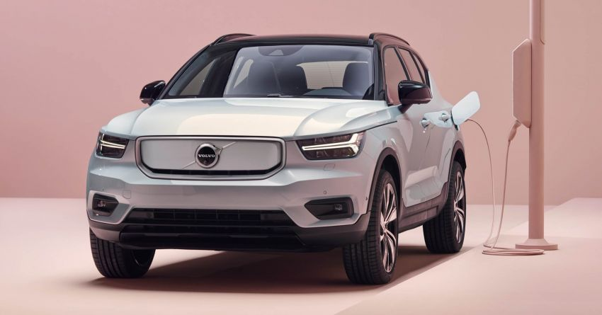 Volvo XC40 Recharge debuts – 402 hp and 660 Nm; zero to 100 km/h in 4.9 seconds; 400 km EV range Image #1031750