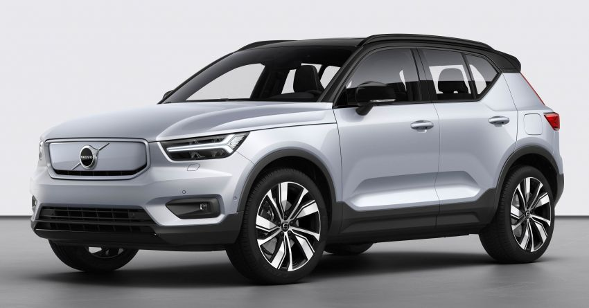 Volvo XC40 Recharge debuts – 402 hp and 660 Nm; zero to 100 km/h in 4.9 seconds; 400 km EV range Image #1031765