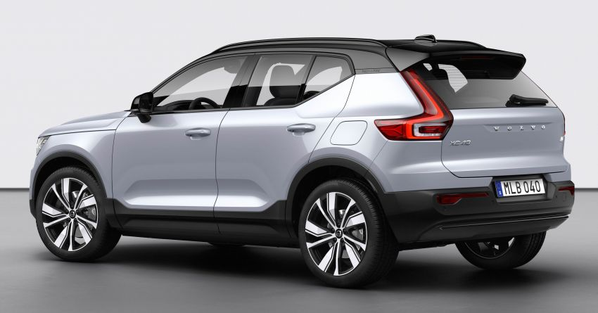 Volvo XC40 Recharge debuts – 402 hp and 660 Nm; zero to 100 km/h in 4.9 seconds; 400 km EV range Image #1031767