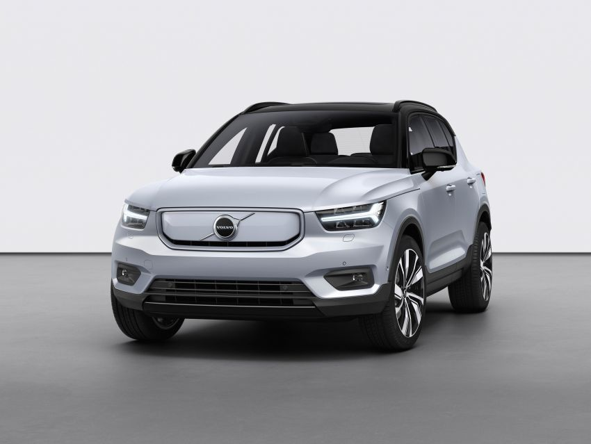 Volvo XC40 Recharge debuts – 402 hp and 660 Nm; zero to 100 km/h in 4.9 seconds; 400 km EV range Image #1031769