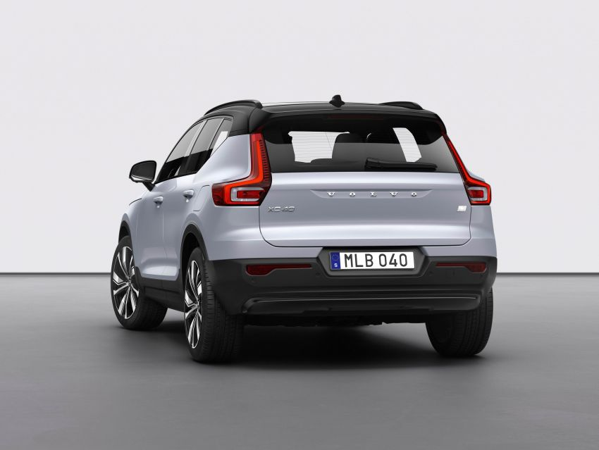 Volvo XC40 Recharge debuts – 402 hp and 660 Nm; zero to 100 km/h in 4.9 seconds; 400 km EV range Image #1031771