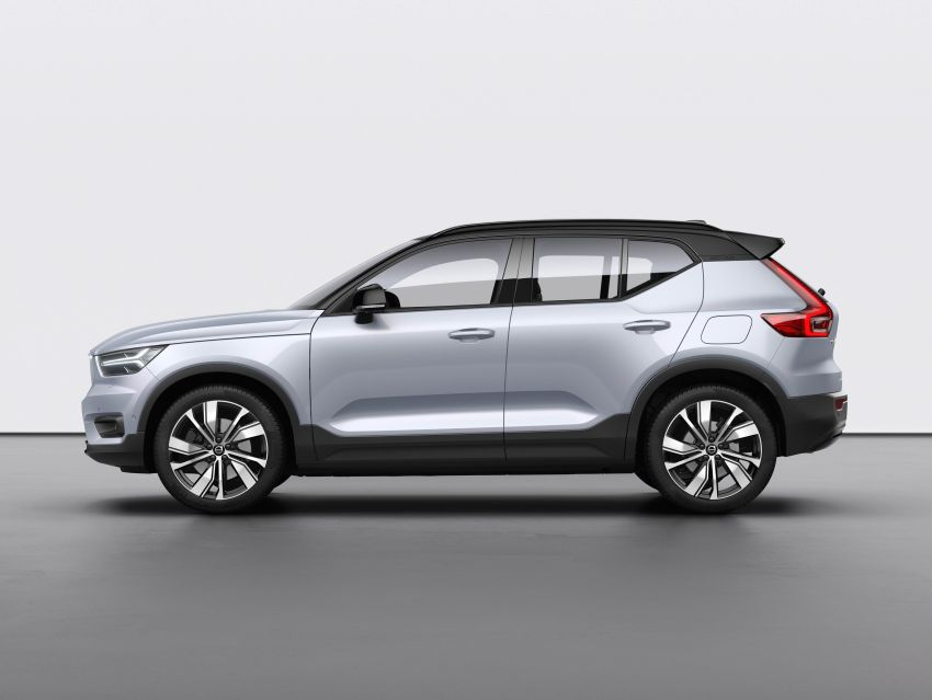 Volvo XC40 Recharge debuts – 402 hp and 660 Nm; zero to 100 km/h in 4.9 seconds; 400 km EV range Image #1031772