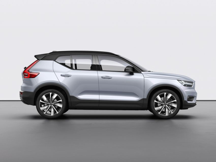 Volvo XC40 Recharge debuts – 402 hp and 660 Nm; zero to 100 km/h in 4.9 seconds; 400 km EV range Image #1031774
