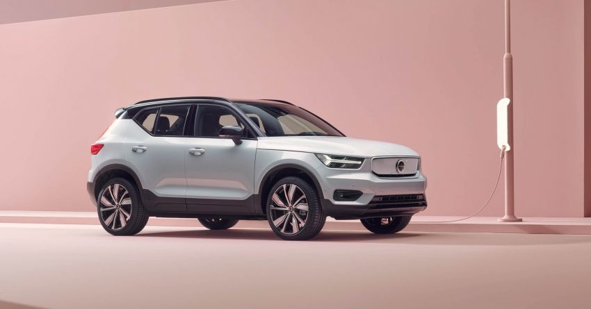 Volvo XC40 Recharge debuts – 402 hp and 660 Nm; zero to 100 km/h in 4.9 seconds; 400 km EV range Image #1031751