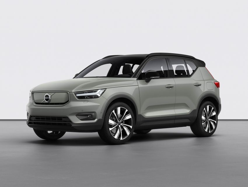 Volvo XC40 Recharge debuts – 402 hp and 660 Nm; zero to 100 km/h in 4.9 seconds; 400 km EV range Image #1031786