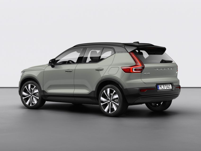 Volvo XC40 Recharge debuts – 402 hp and 660 Nm; zero to 100 km/h in 4.9 seconds; 400 km EV range Image #1031788