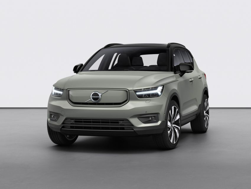 Volvo XC40 Recharge debuts – 402 hp and 660 Nm; zero to 100 km/h in 4.9 seconds; 400 km EV range Image #1031789