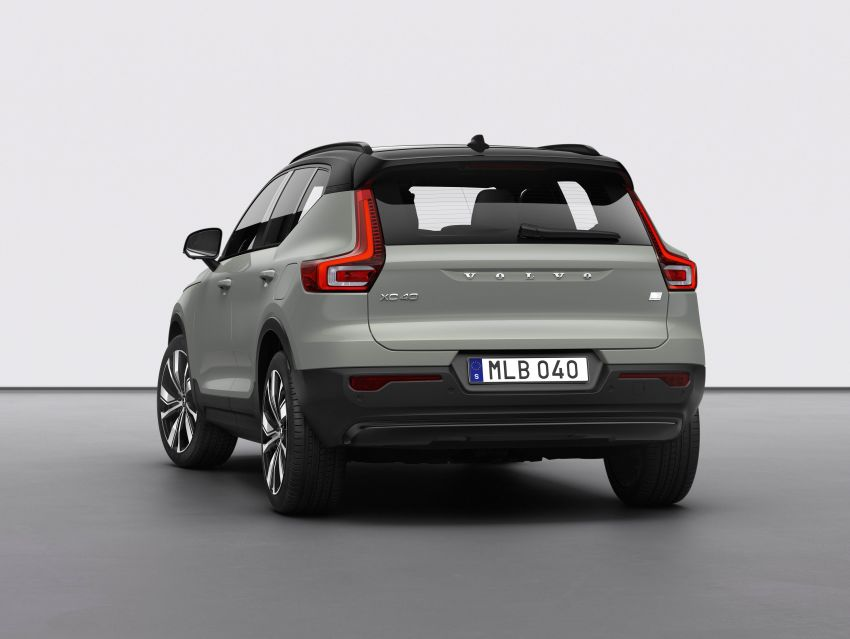 Volvo XC40 Recharge debuts – 402 hp and 660 Nm; zero to 100 km/h in 4.9 seconds; 400 km EV range Image #1031792