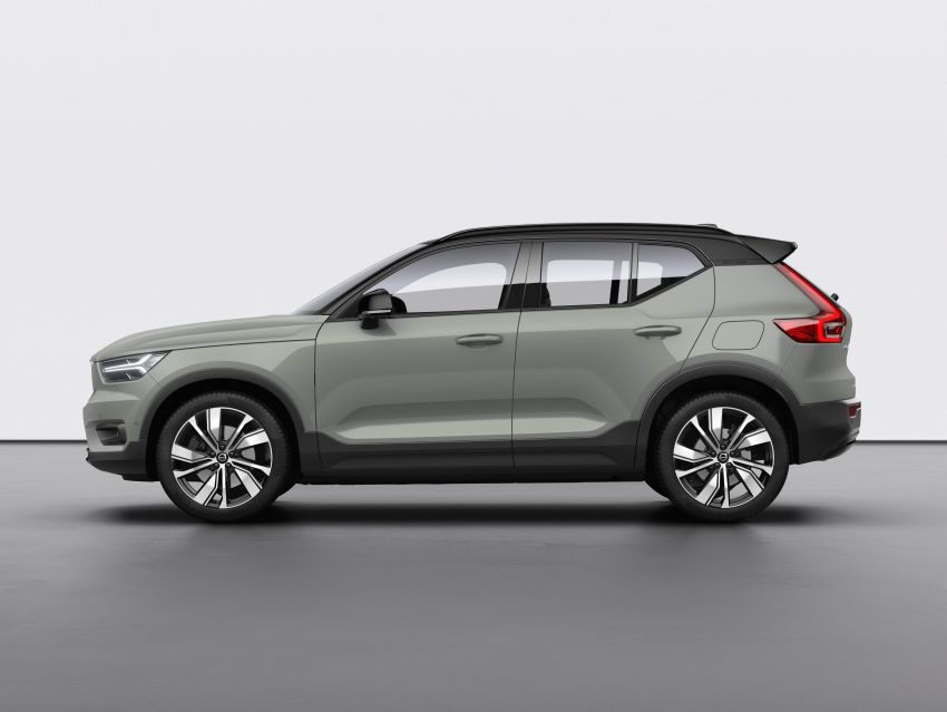 Volvo XC40 Recharge debuts – 402 hp and 660 Nm; zero to 100 km/h in 4.9 seconds; 400 km EV range Image #1031793