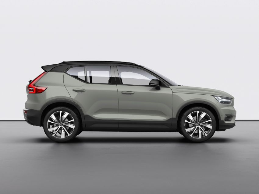 Volvo XC40 Recharge debuts – 402 hp and 660 Nm; zero to 100 km/h in 4.9 seconds; 400 km EV range Image #1031798