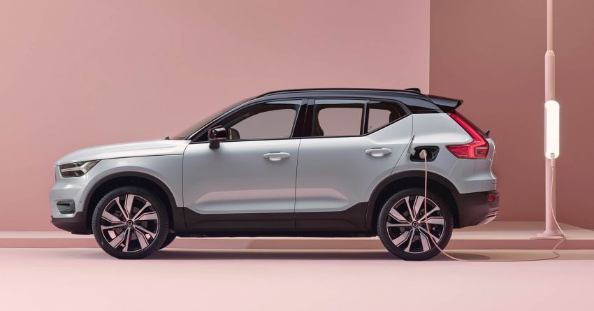 Volvo XC40 Recharge debuts – 402 hp and 660 Nm; zero to 100 km/h in 4.9 seconds; 400 km EV range Image #1031752
