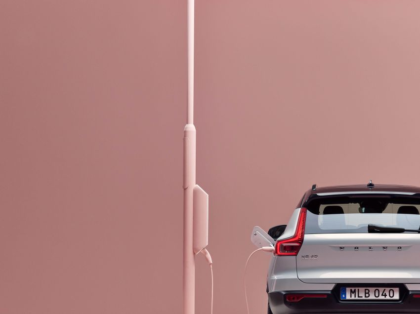Volvo XC40 Recharge debuts – 402 hp and 660 Nm; zero to 100 km/h in 4.9 seconds; 400 km EV range Image #1031755