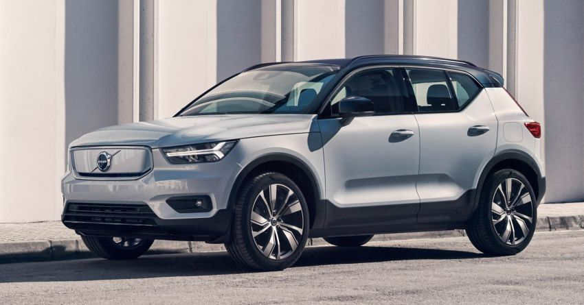 Volvo XC40 Recharge debuts – 402 hp and 660 Nm; zero to 100 km/h in 4.9 seconds; 400 km EV range Image #1031758