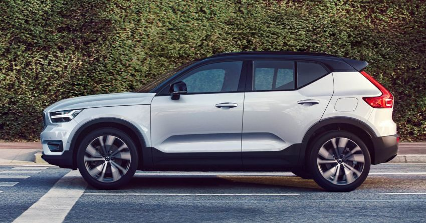 Volvo XC40 Recharge debuts – 402 hp and 660 Nm; zero to 100 km/h in 4.9 seconds; 400 km EV range Image #1031760