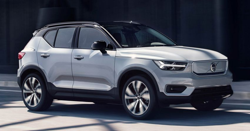 Volvo XC40 Recharge debuts – 402 hp and 660 Nm; zero to 100 km/h in 4.9 seconds; 400 km EV range Image #1031762